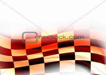 abstract racing flag