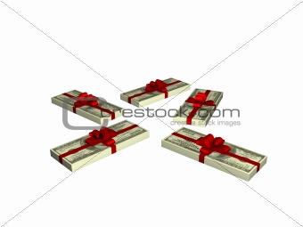10000 dollars gift