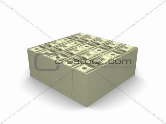 One million dollars