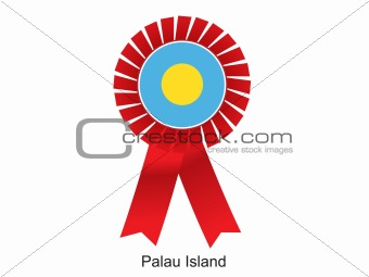 Palau Island flag