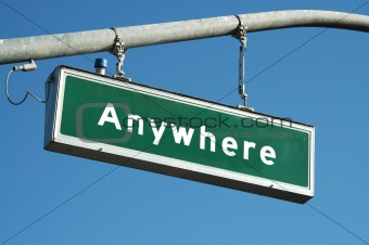 Anywhere sign