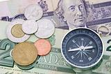 Compass on canadian dollar
