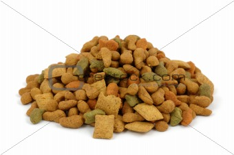 Cat dried food