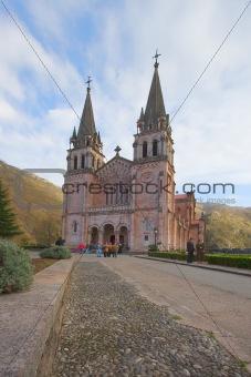 Cathedral Covandonga, Asturias, Spain