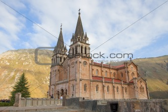 Covadonga From Side