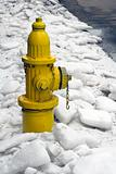 Hydrant on ice