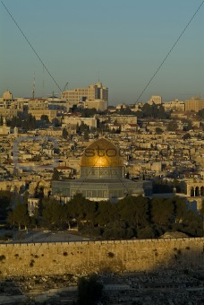 The Old City of Jerusalem At Down