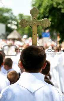 carrying cross