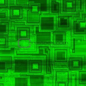 Green high tech background