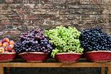 Market Grapes In Tuscany