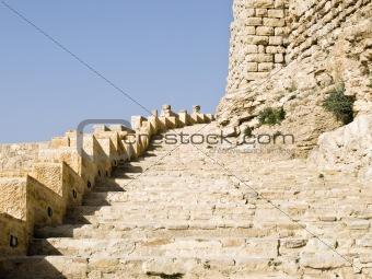 Castle Al Kerak in Jordan