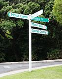 New Zealand street signs.
