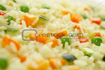 Rice & Vegetables_a