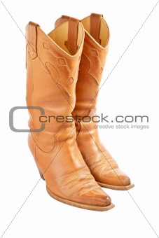 Pair of used cowboy boots