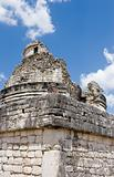 Ancient observatory in Chichen Itza Fragment 2