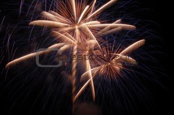 Fireworks Streaks