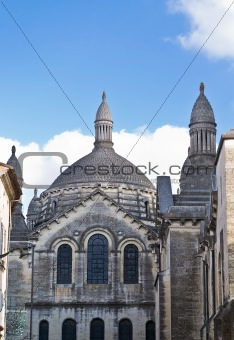 antique church building in Europe