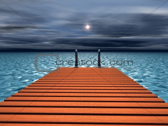 Bridge to the sea