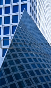 skyscrapers abstract view