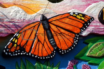 Artwork of Beautiful Butterfly