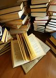 Many old books