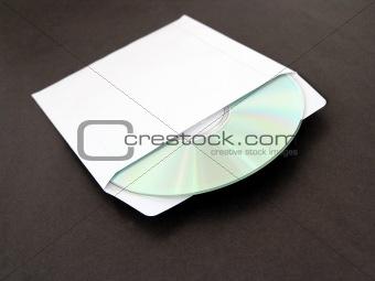 CD in sleeve