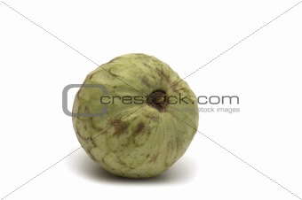 fresh Annona cherimola on white background