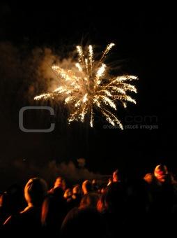 Fireworks at Beaumaris
