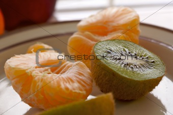 Kiwi and Clementine Tangerines