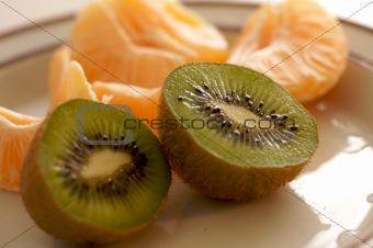 Kiwi and Clementine Tangerines