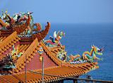 Chinese Temple by the Sea