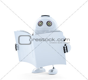 Android Robot with manual