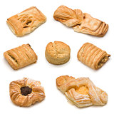 Assorted sweet baked products