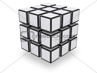 Assembled 3x3 cube