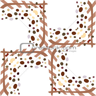 Frame Pattern Background