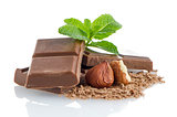 Chocolate Bar with hazelnuts