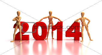 2014 New Years Team