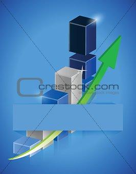 Business background. illustration design