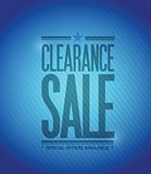 clearance sale concept illustration design