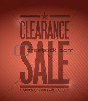 clearance sale illustration design