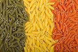 Pasta Italian flag