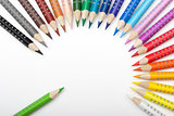 Life of color pencils