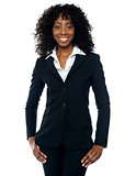 Stylish african female business executive