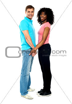 African American couple in love