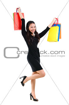 Asian woman shopper