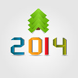 2014 beauty Christmas and New Year background