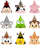 Animal Party Hats
