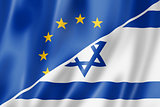 Europe and Israel flag