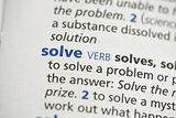 Solve definition