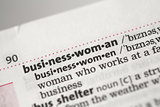 Businesswoman definition